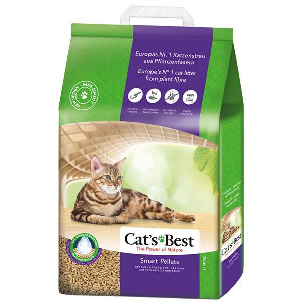 Cats Best Smart Pellets 10Kg/ 20L Clumping ECO cat litter | chefs 4 pets