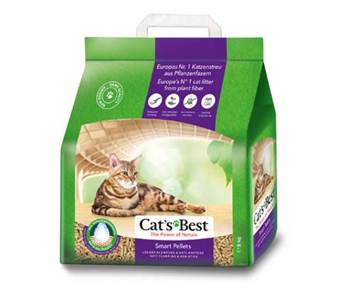 Cats Best Smart Pellets 5Kg/ 10L Clumping ECO cat litter | chefs4pets