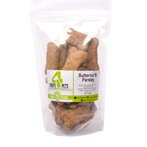 Butternut and Parsley Dog Biscuits | Raw Dog Food | Raw Pet Food | Chefs4Pets