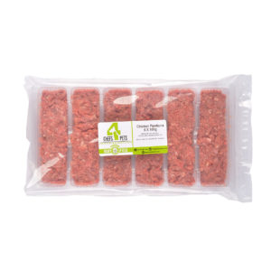 Chicken Mince Pawtions | raw dog food | raw cat food | raw pet food | Chefs4Pets