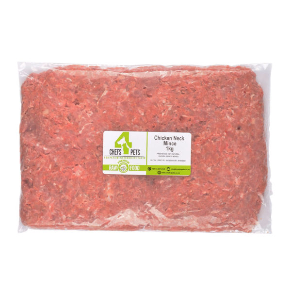 Chicken Neck Mince | raw dog food | Raw Pet Food | chefs4pets