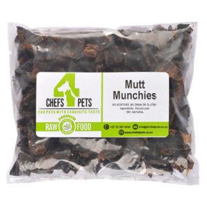 Mutt Munchies | raw dog food | raw pet food | Chefs4Pets