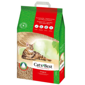 Cats Best Original 8.6Kg/ 20L Clumping ECO cat litter | Chefs4Pets|