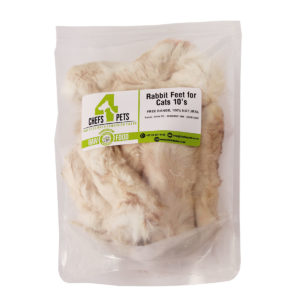 Dried Rabbit Feet for Cats - 10's| Packaged| Chefs4Pets