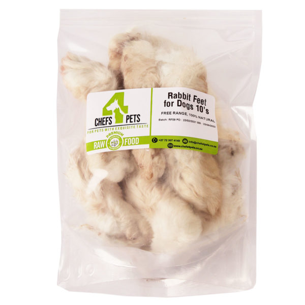 Dried Rabbit Feet for Dogs - 10's| Chefs4Pets| Treats| Dogs
