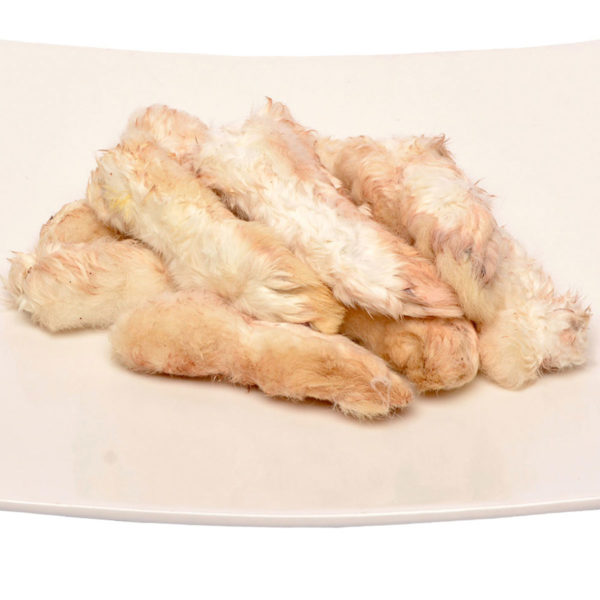 Dried Rabbit Feet for Dogs - 10's| Chefs4Pets