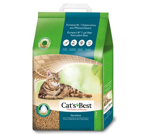 Cats Best Sensitive 7.2Kg/ 20L Clumping ECO cat litter | Chefs4Pets