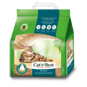 Cats Best Sensitive 2.9Kg/ 7L Clumping ECO cat litter | chefs4pets