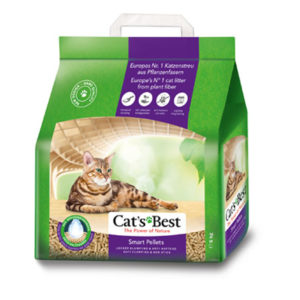 Cats Best Smart Pellets 2.5Kg/ 5L Clumping ECO cat litter | chefs4pets