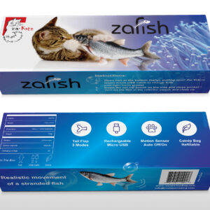 zaKatz zaFish Interactive Flopping Fish