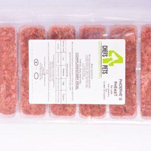 Phoephe's Pheast Pawtions   raw dog food   raw pet food   Chefs4Pets