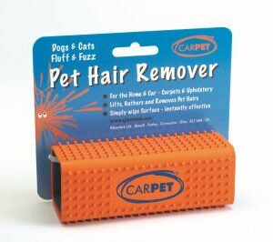 Pet Hair Remover from CARPET (Orange) | chefs4pets