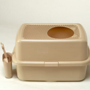 zaHop-in LitterBox (Brown) | chefs4pets