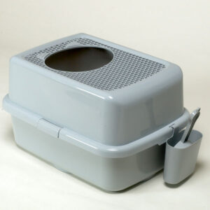 zaHop-in LitterBox (Grey) | chefs4pets