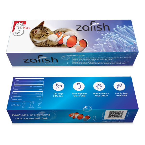 Boxes Clown Fish| zaFish| Chefs4Pets
